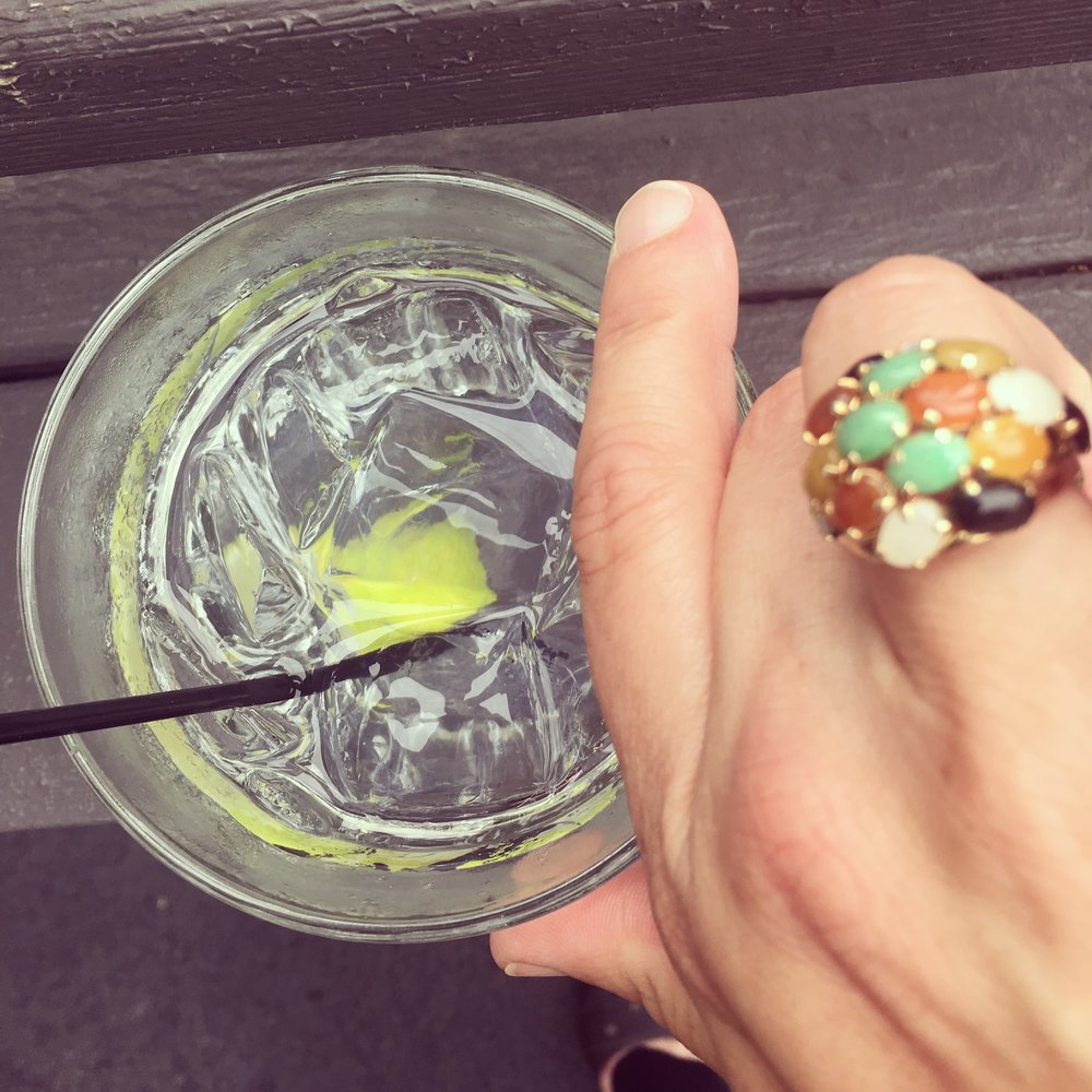 I signed my lease and celebrated with my late grandmother's favorite drink - a vodka tonic. She would have been bursting with joy. I bursting enough for the both of us.