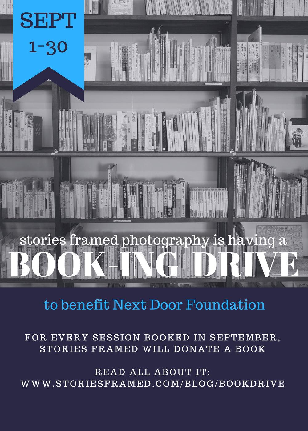 SFP Book-ing Drive 9/17