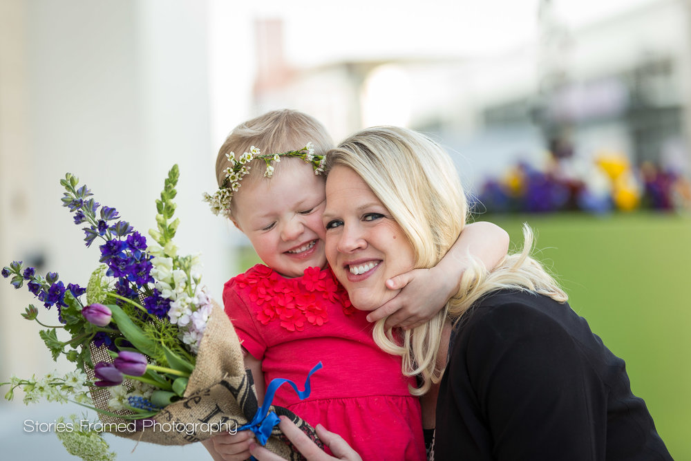 I loved photographing this beautiful pair for Mother's Day.