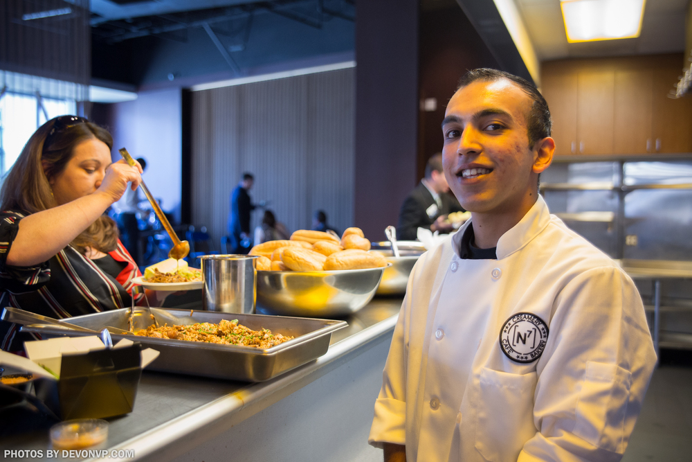 In-house kitchen make the food from scratch ensures quality all of the way to the plate. (Pictured: Sahil Shah)