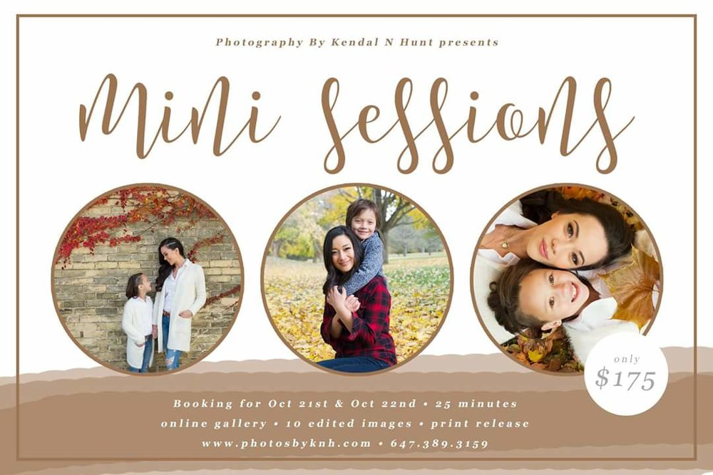 Fall Family Photo sessions, London, Ontario