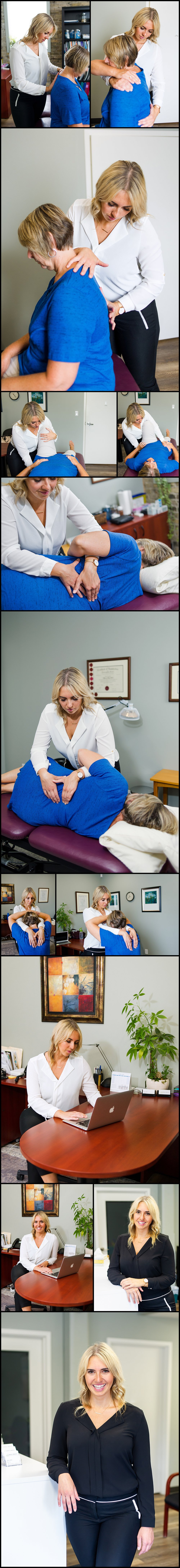 Osteopath Mallory Abbott London, Ontario Canada, Personal Brand Photography, Story telling Photography