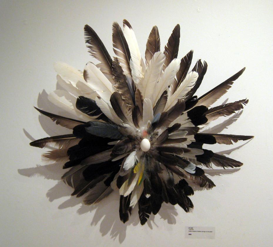 Local Bird - wall sculpture 60cm x 60cm.jpg