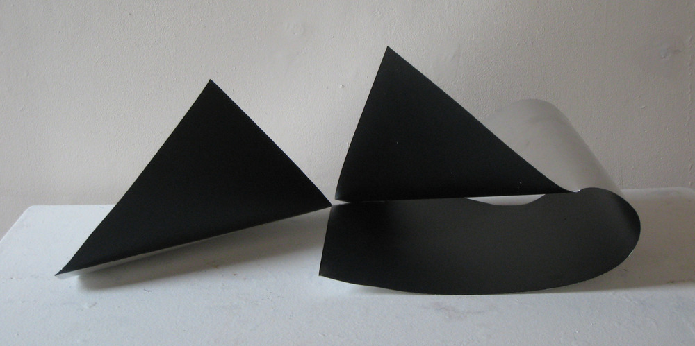 silver and black fold