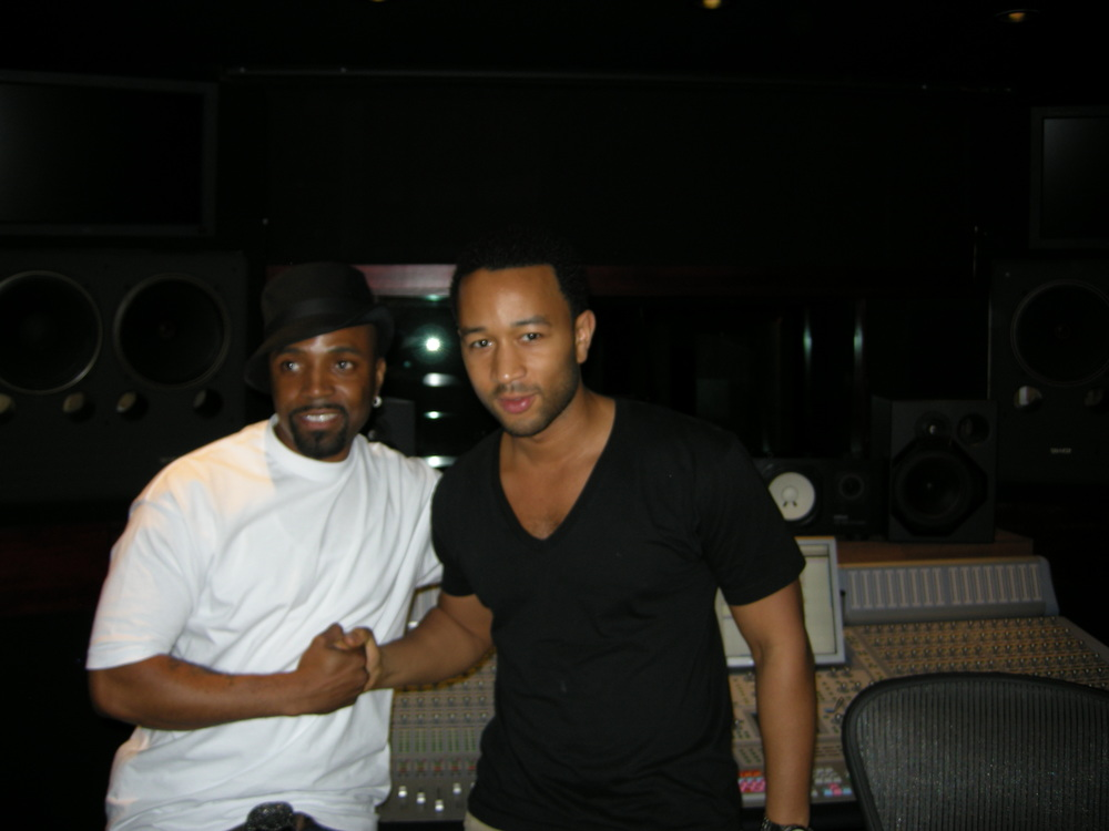 Teddy Riley, & John Legend