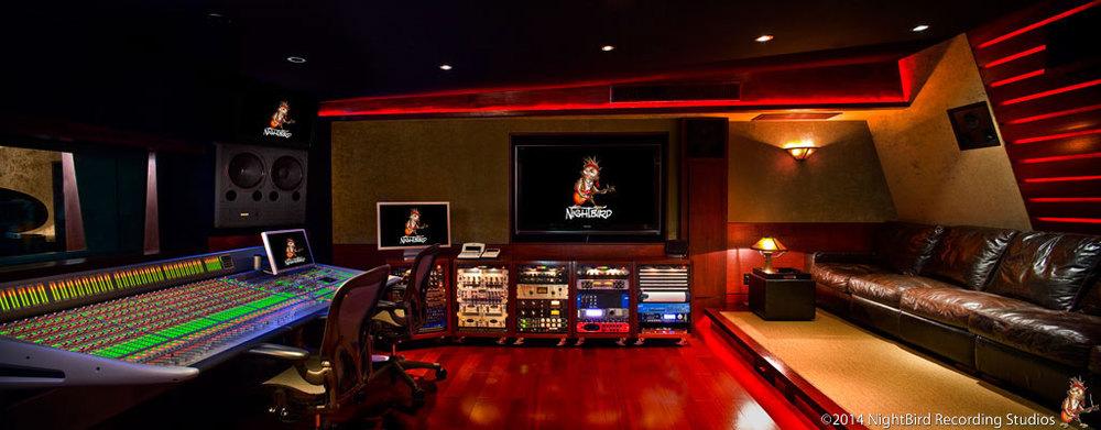 Awe Inspiring Studios Nightbird Recording Studios Largest Home Design Picture Inspirations Pitcheantrous