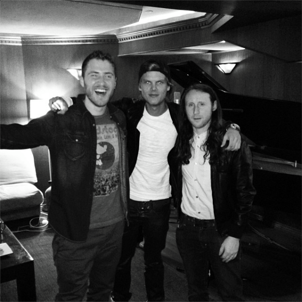 Mike Posner, Avicii, & Mike Einziger