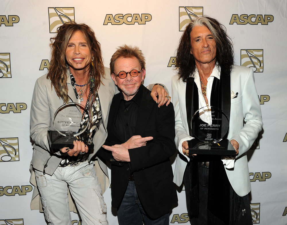 Steven Tyler, Paul Williams, Joe Perry