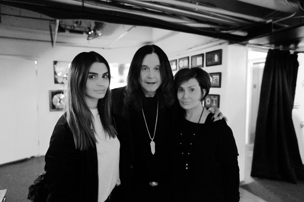 Aimee Osbourne, Ozzy Osbourne, Sharon Osbourne