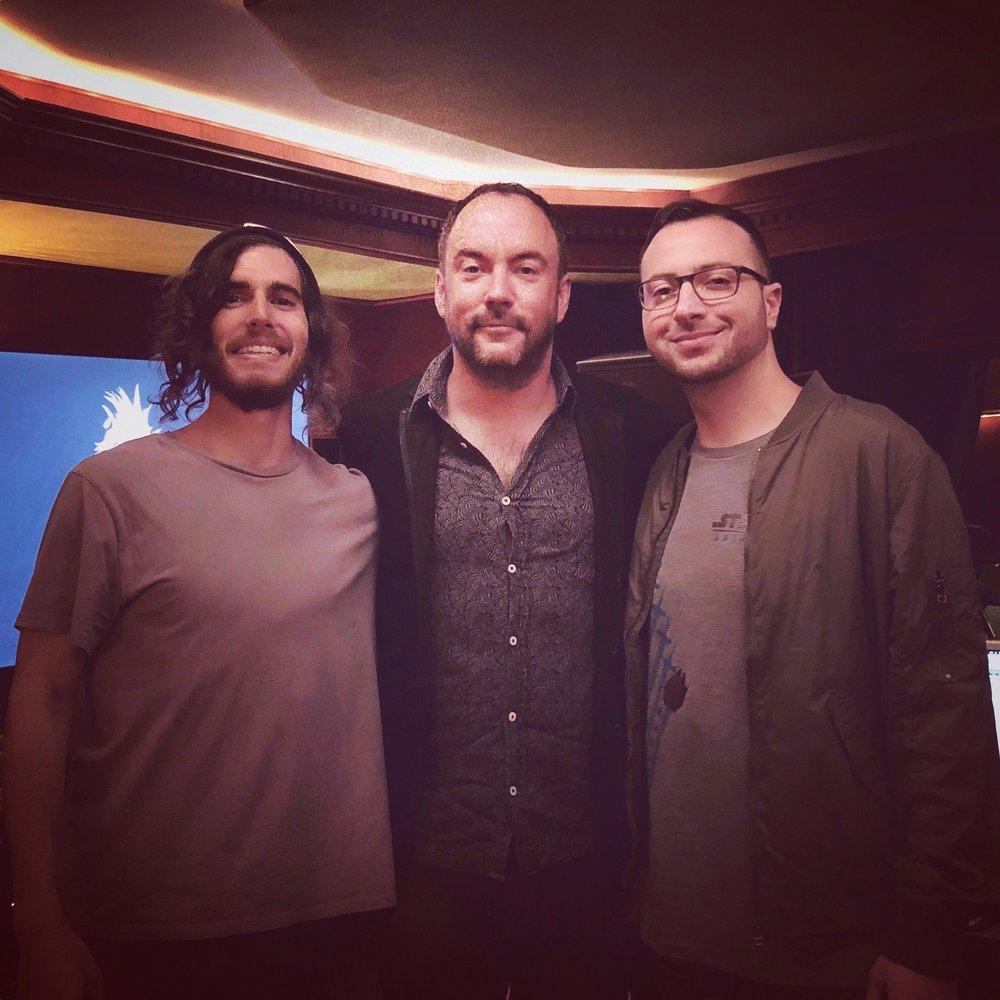 Dave Matthews & NightBird Engineers Marco Falcone & Mike Gaydusek
