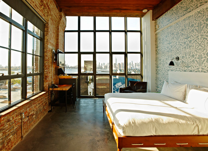 The Wythe Hotel, Brooklyn.