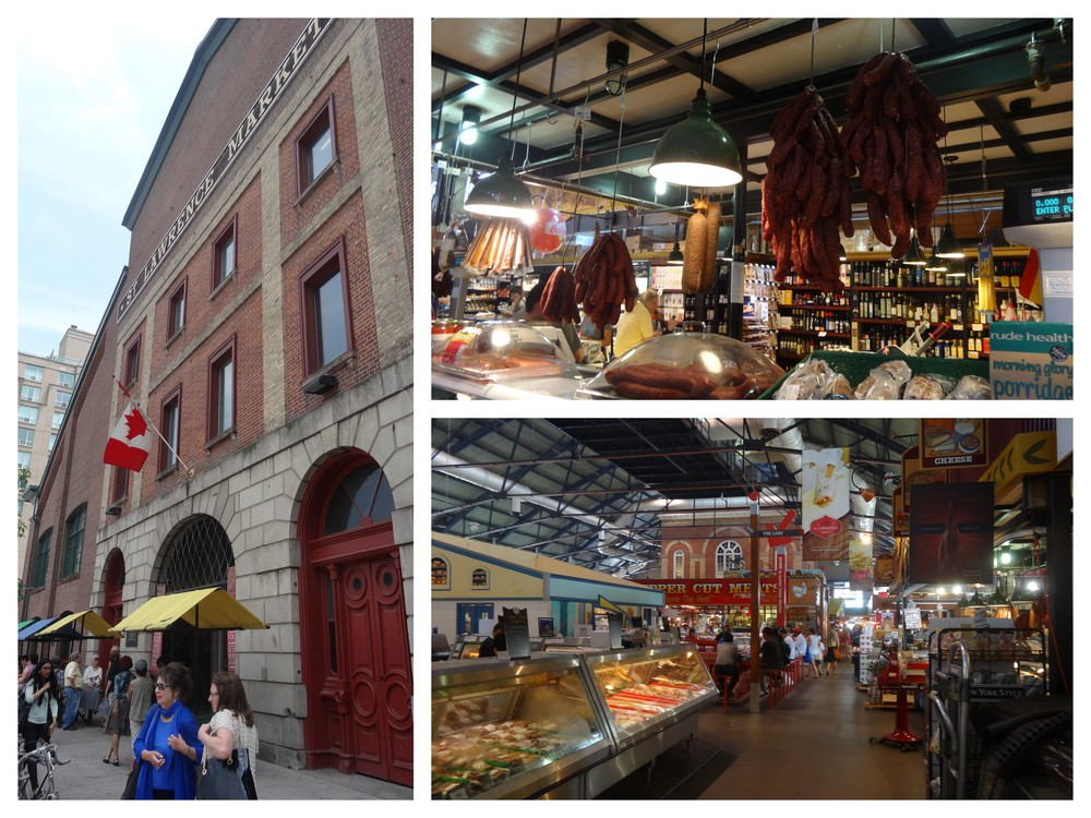 St Lawrence market from the outside