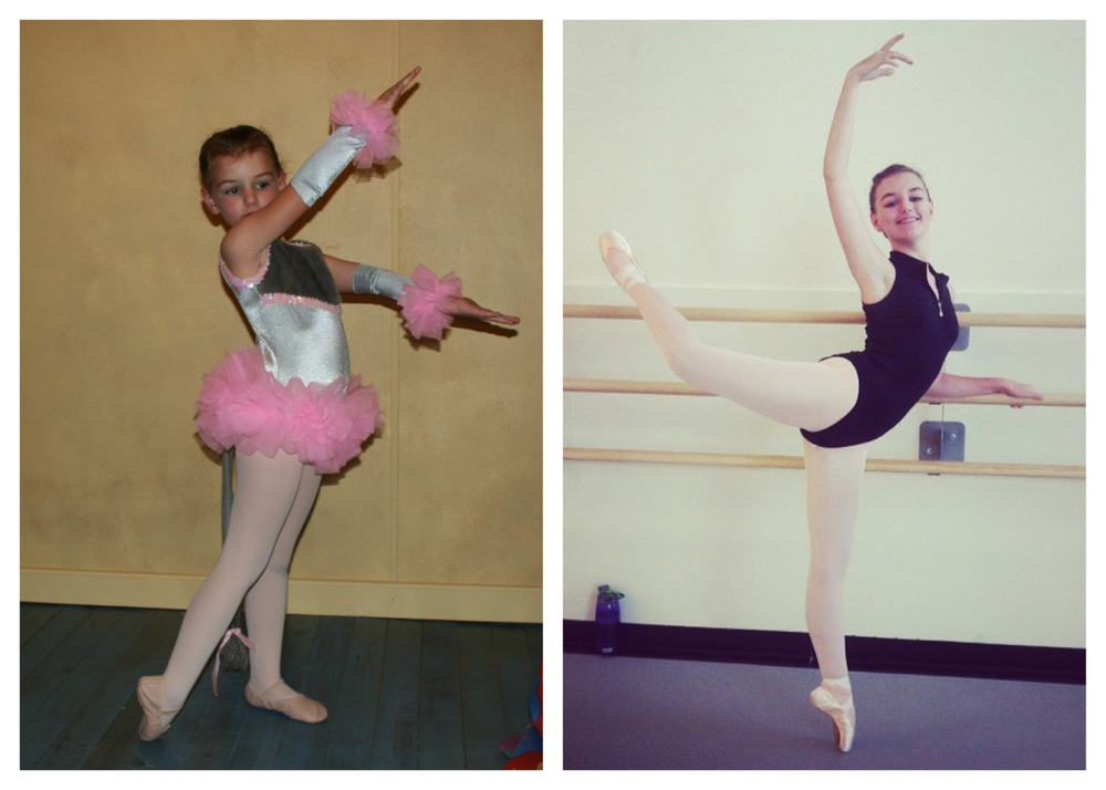 Savannah in her first dance recital and 2014 Dance Summer Intensive #frozensummer2014