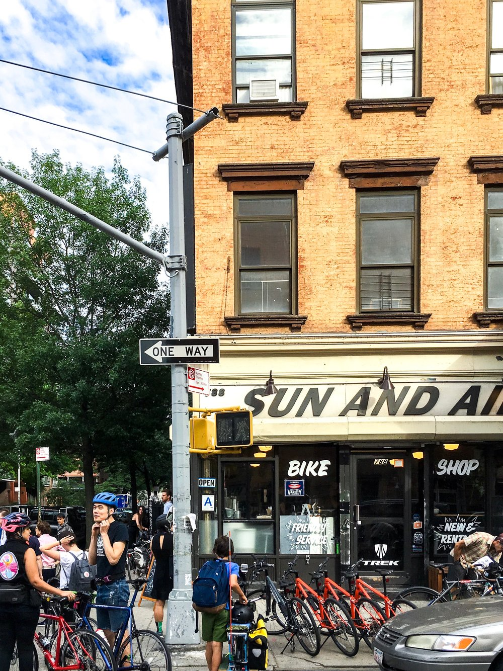 Sun and Air Bicycle Shop in WBurg
