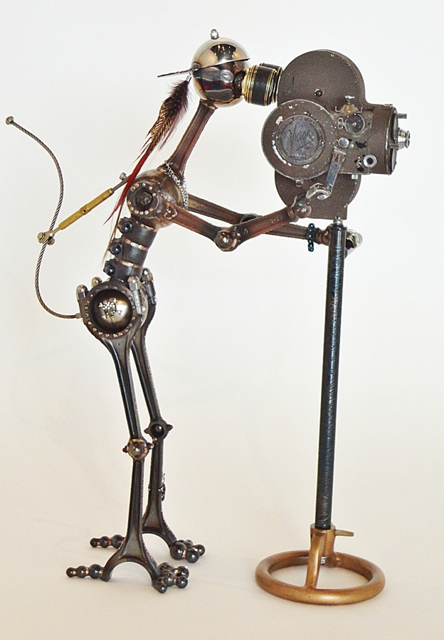 Victrola - a Mechanical Planet creation by sculptor Steve Culp.   $2,535.00