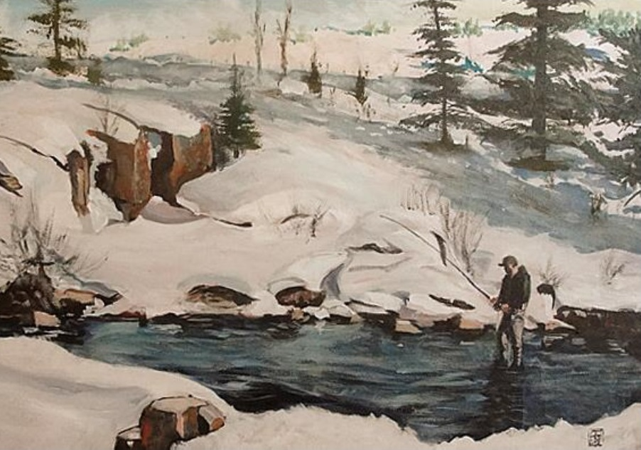 Spring Thaw by Michael Torma at the Norsworthy Gallery in Shreveport Louisiana.jpg