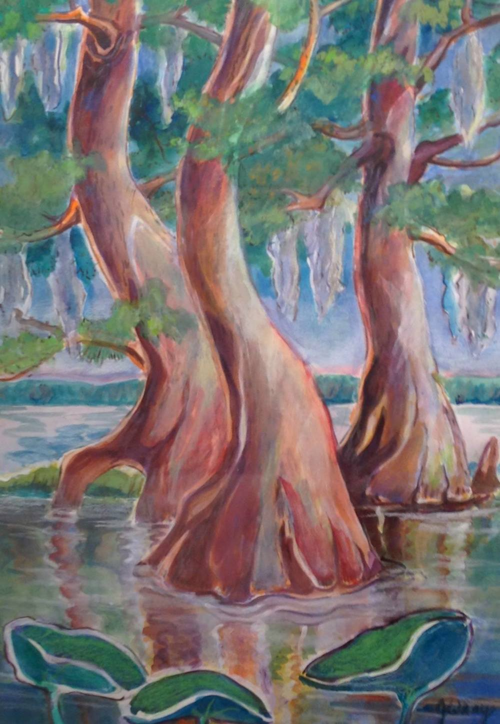 """Dancing Cypress"" by Jerry Wray"