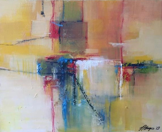 """Abstract in Gold"" by Susan Attaway"