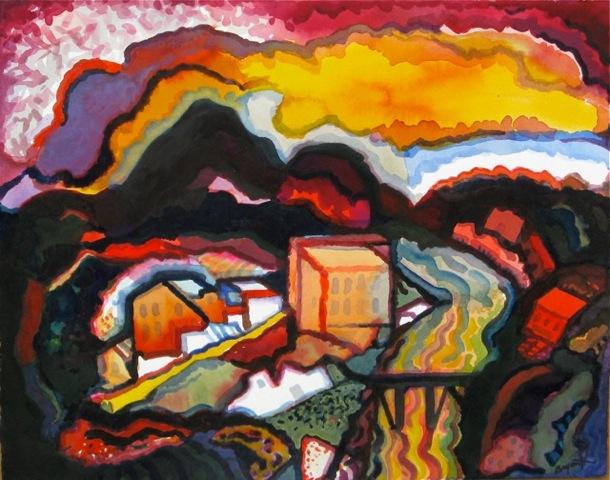 """""""Old Denver"""" by Bill Bryant"""