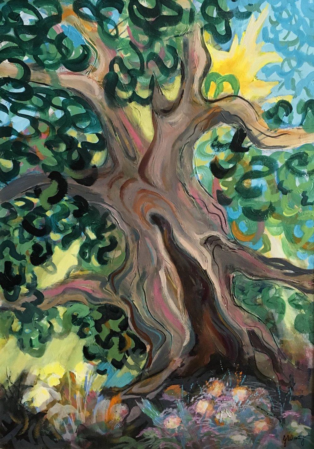 """Oak Tree"" by Jerry Wray"