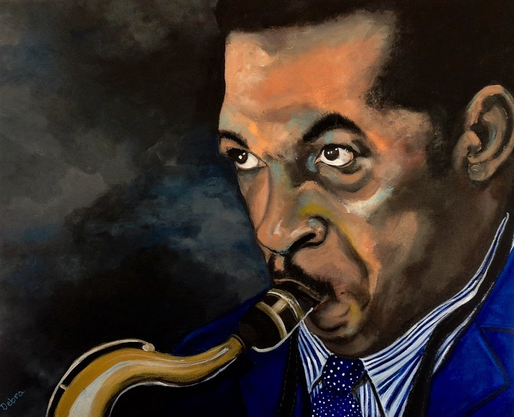"""Coltrane"" by Debra Bradley"