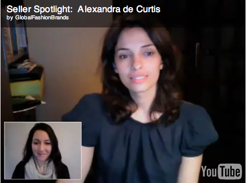 Global Fashion Brands Seller Spotlight Alexandra de Curtis