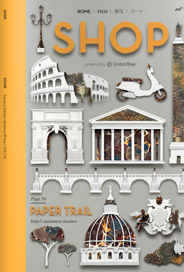 SHOP Rome October 2015 Issue Alexandra de Curtis