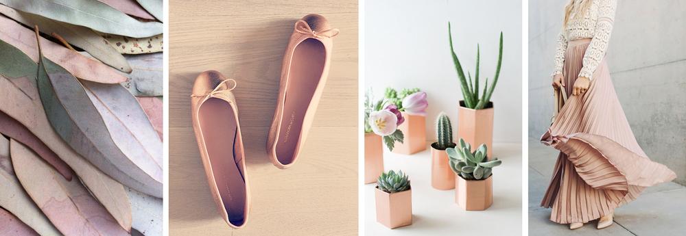 Alexandra de Curtis Copper Pink Trend