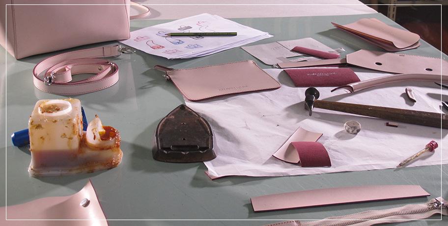 The Making Of An Alexandra de Curtis handbag | Alexandra de Curtis, italian leather handbags