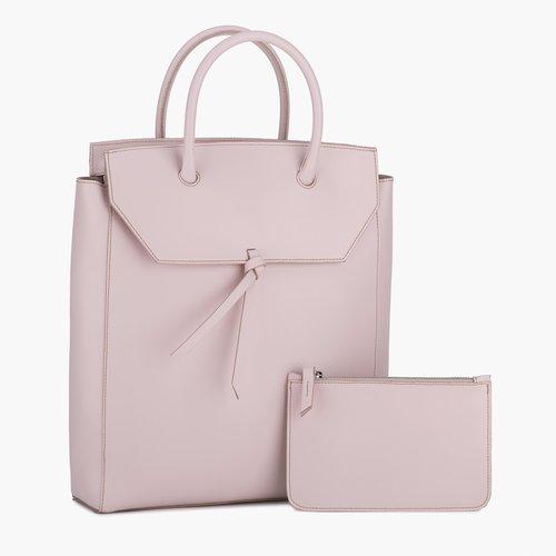 fee4d3aea617 Tall Loren Tote - Blush Pink — Alexandra de Curtis