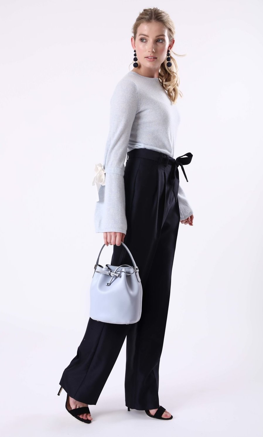 Alexandra de Curtis Sky Blue Mini Bucket
