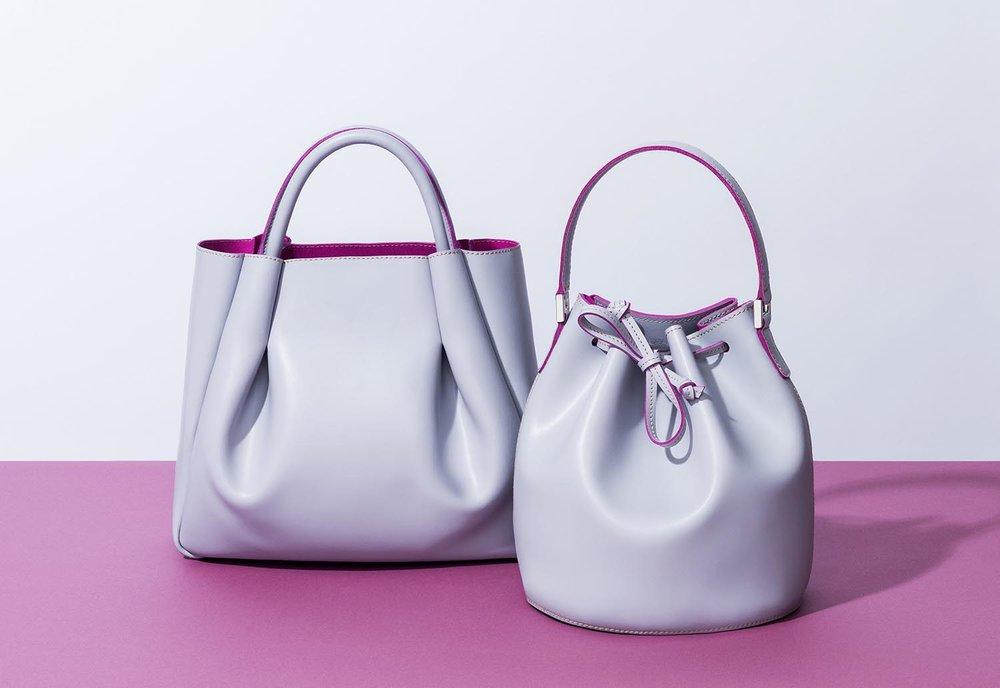 Alexandra de Curtis BUCKET BAGS