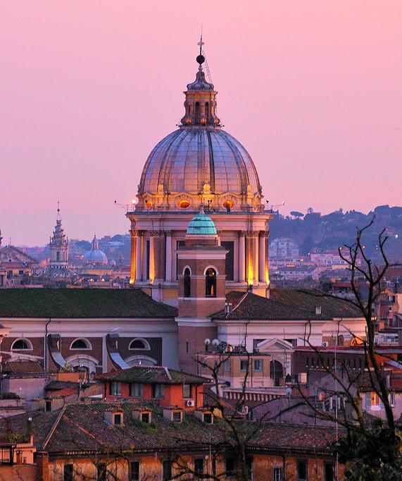 Alexandra de Curtis SS18 Moodboard Rome Sunset