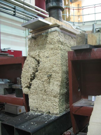 Hemp Frame block after loading