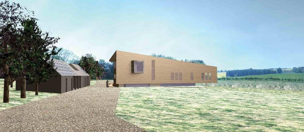 Modece Architects. Clayhill Farm, Lavenham