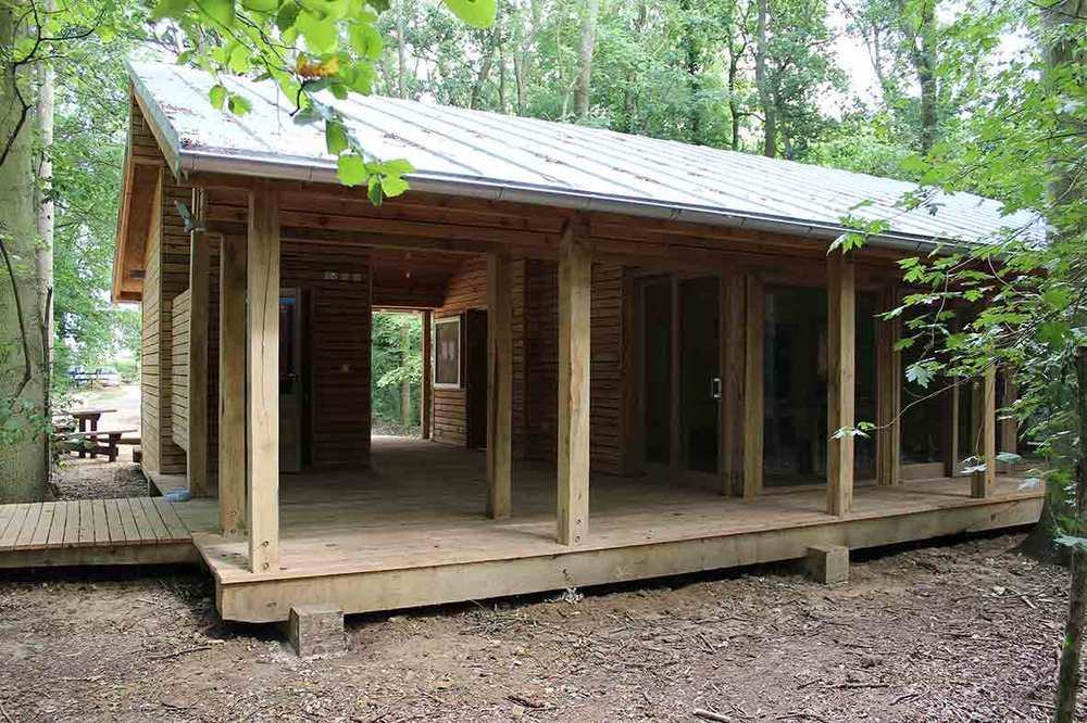 Suffolk Wildlife Trust, Bradfield woods, community centre