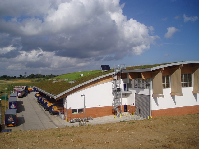 Adnams Brewery Distribution Centre opened 2006 Photo by Robert Walker