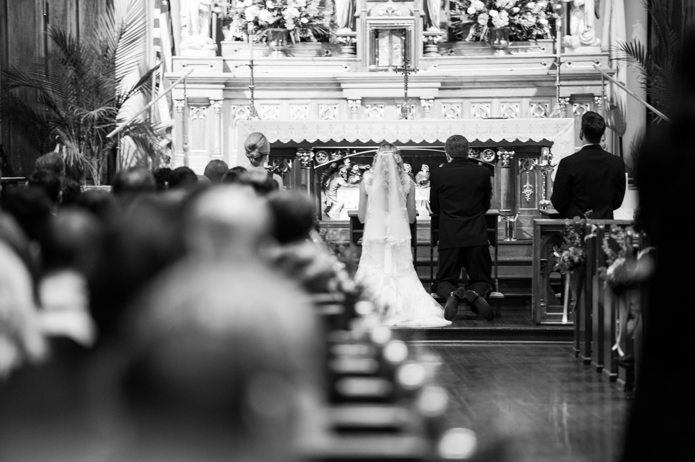 Candid Church Wedding