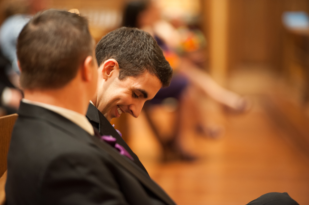 Brother Laughs at Priest's Joke