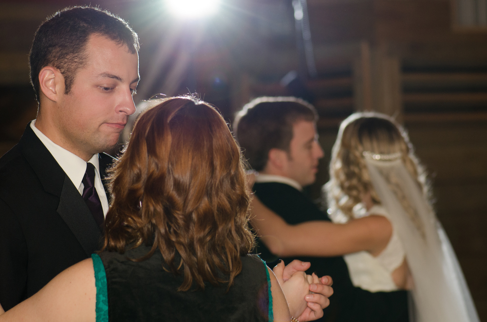 Couples Dance During Wedding Reception