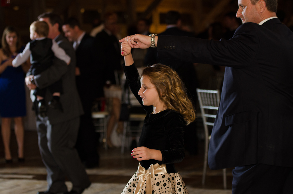 Dad Dances with his Daughter at Wedding