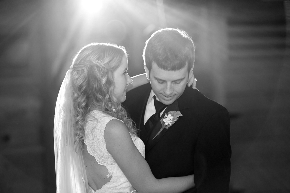 Beautiful Light During First Dance