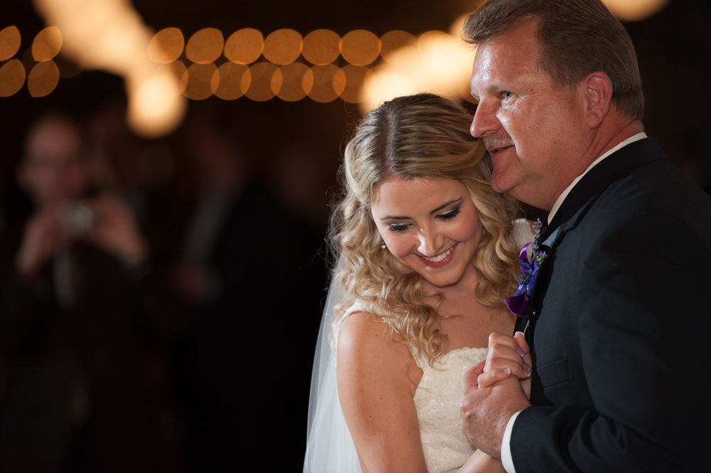 Bride and Dad Dance