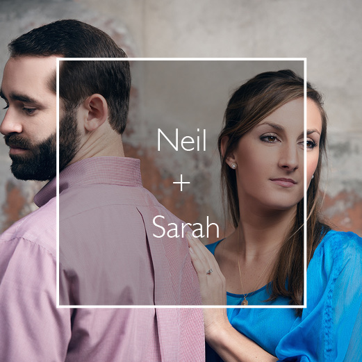 Neil and Sarah's Downtown, New Orleans Engagement Session.