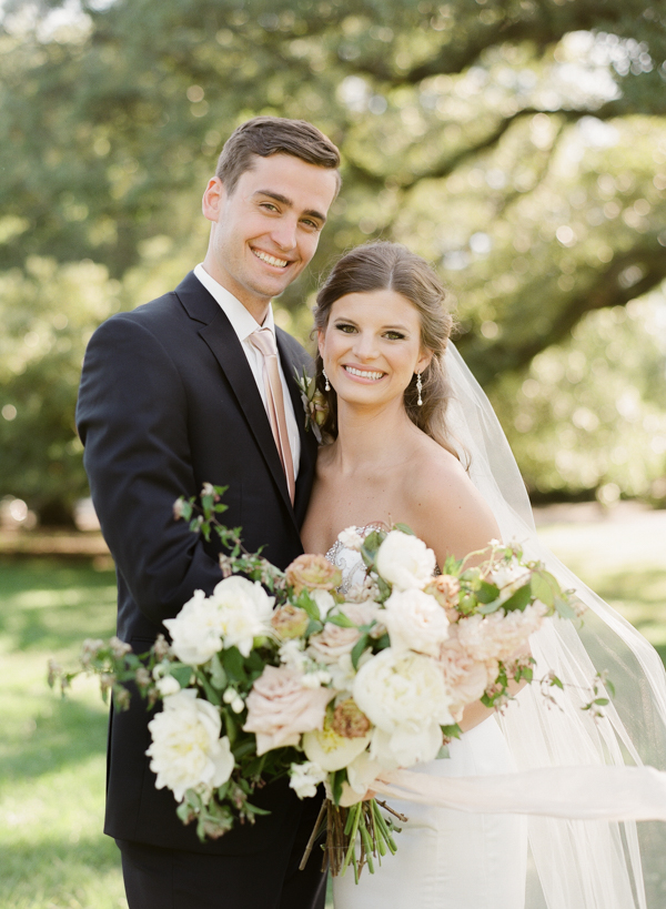 LAURA & CALEB FeatURED ON SOUTHERN WEDDINGS