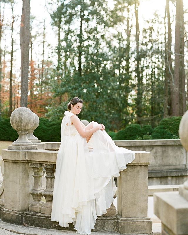 Beyond honored to have our image of this beautiful gown by @leannemarshallofficial be selected by @magnoliarouge as one the best dress images of 2017 . . . Gown provided our friends at the @thesentimentalistatl with styling and design by @simplycharmingsocials and florals from @lindsaycolettaflorals