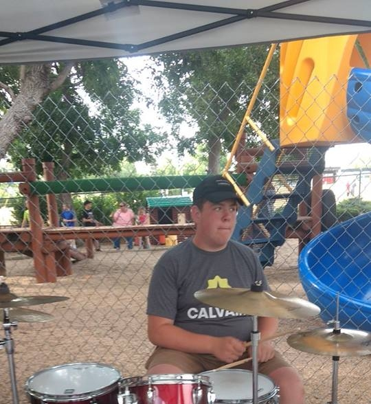 MAC Drum Student on Mission Trip in Colorado!