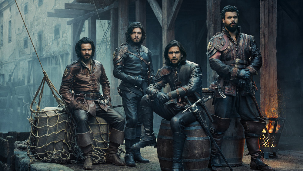 THE MUSKETEERS 3 - BBC