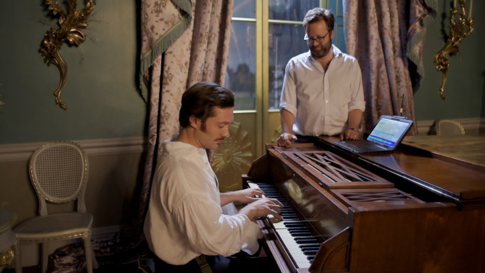 The silent piano - David Oakes and Tom Kelly show us how the music of Victoria is brought to life