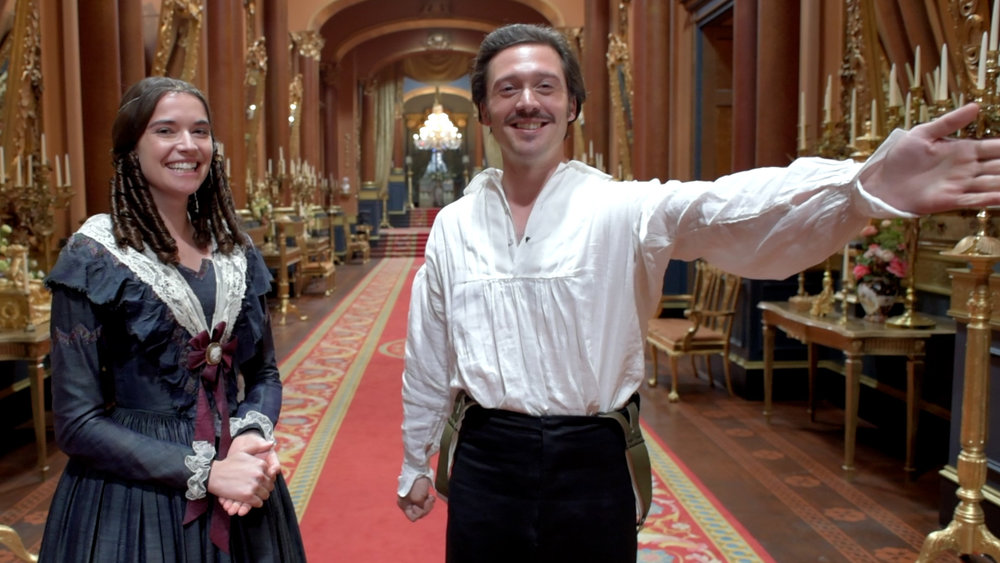 Victoria 2:set tour - David Oakes and Margaret Clunie take us on a tour of some of the new sets for the second season of Victoria